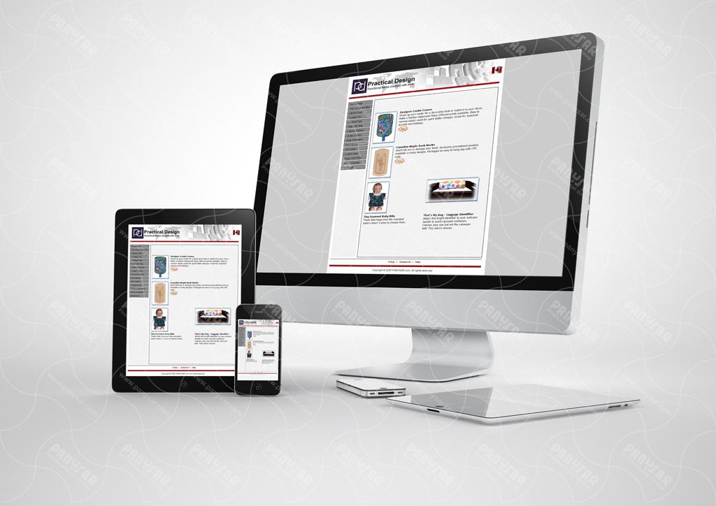 طراحی سایت شرکت PD کانادا