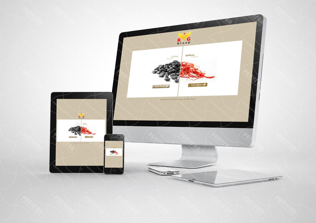 طراحی سایت شرکت ردگولد