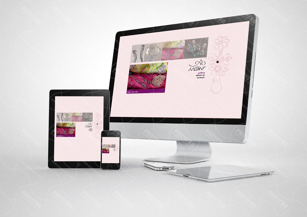 طراحی مالتی مدیای جواهرات مانی