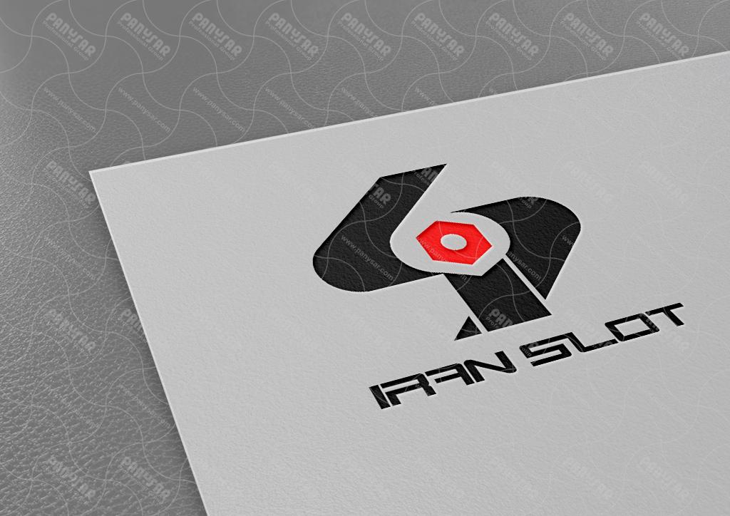 طراحی لوگوی شرکت ایران اسلات
