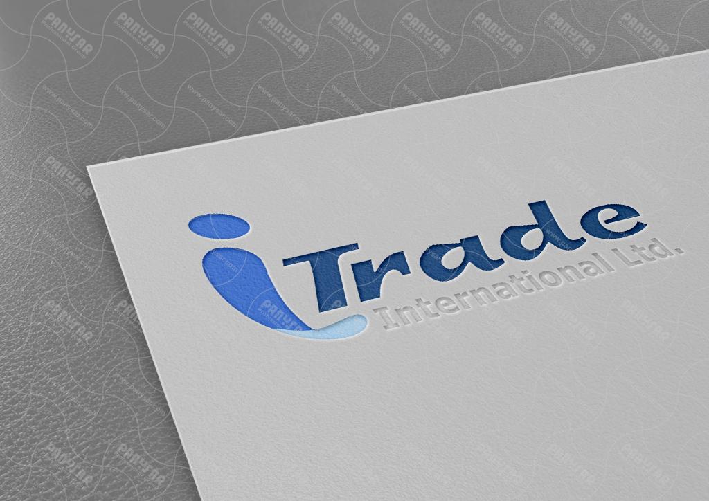 طراحی لوگوی شرکت itrade انگلستان