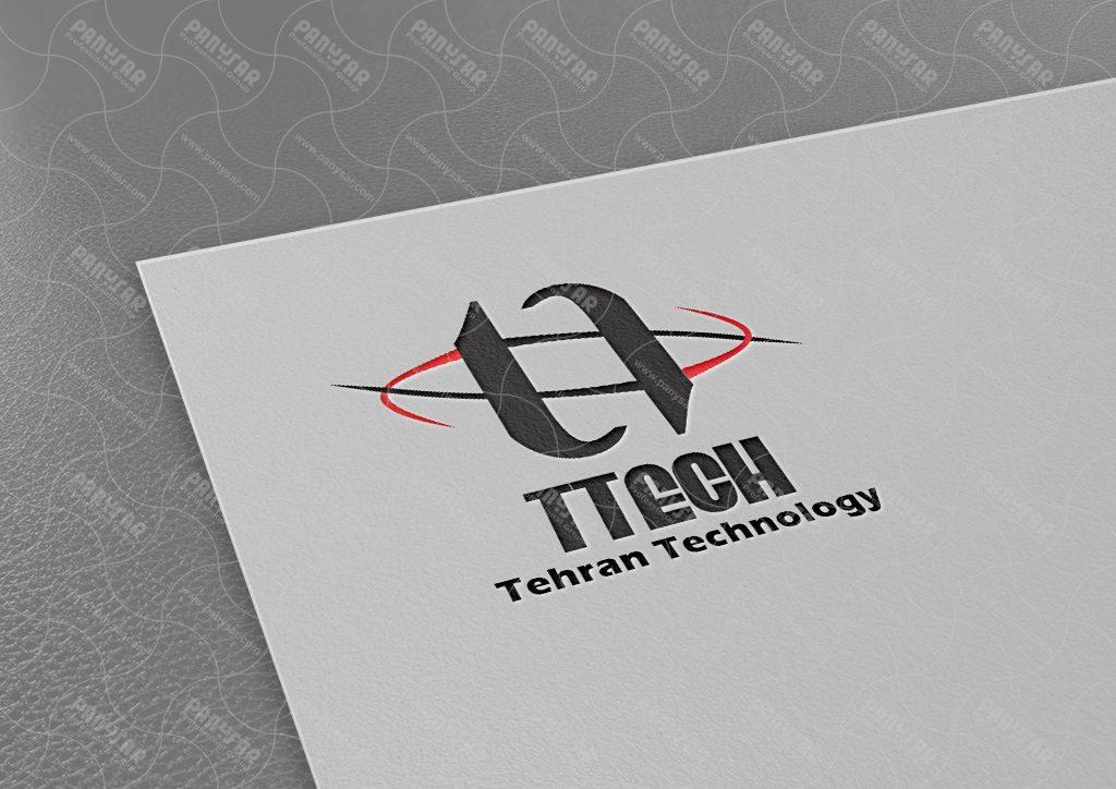طراحی لوگوی تهران تکنولوژی