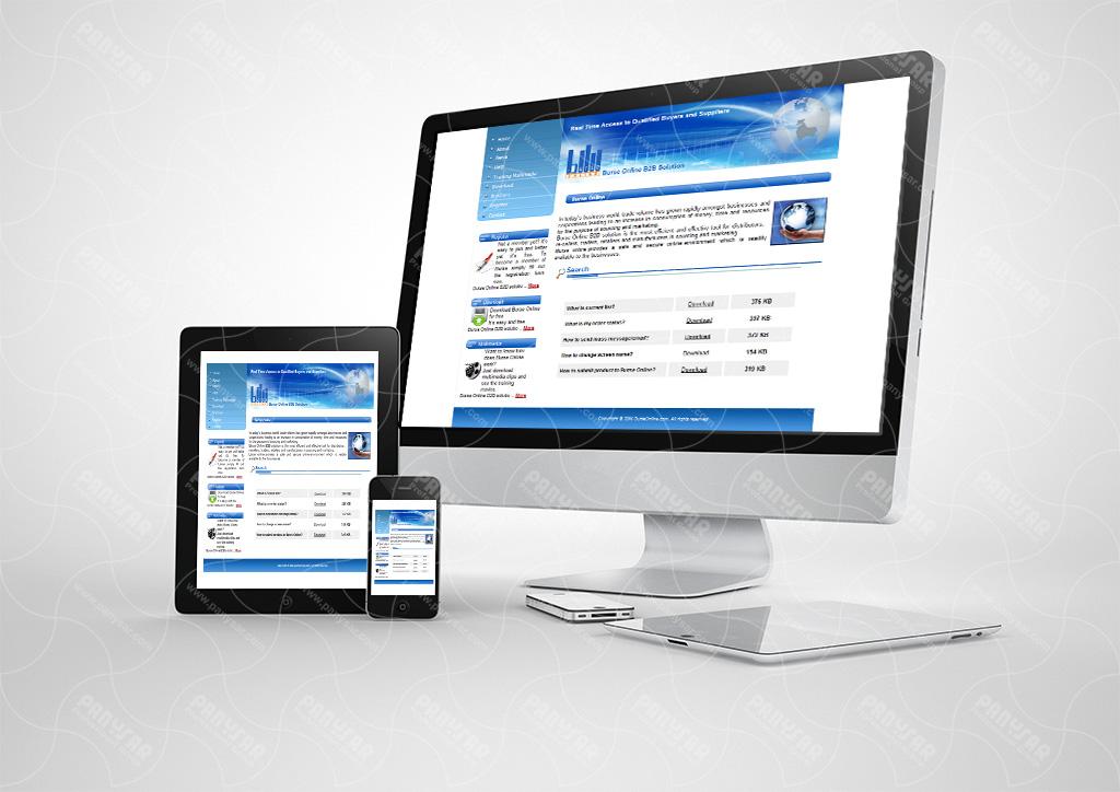 طراحی سایت بورس آنلاین دوبی