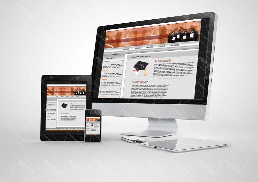 طراحی سایت دانشگاه پایونیر