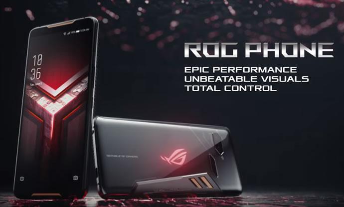 معرفی ROG Phone-اسمارتفون ایسوس برای Gamerها