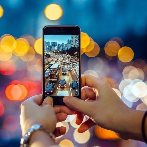 با موبایل عکس حرفه ای بگیرید