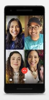 تماس تصویری و صوتی ۴ نفره در واتساپ