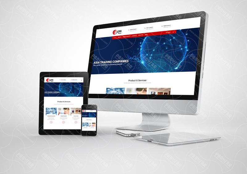 طراحی سایت آسیاپورت